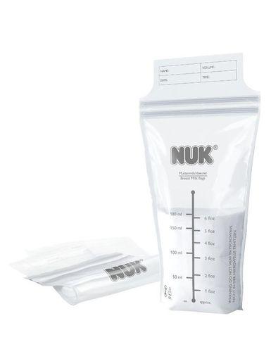 Sáčky na materské mlieko NUK 25 ks - Transparentná