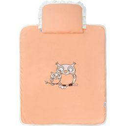 Set do kočíka New Baby Sovičky oranžový - Oranžová