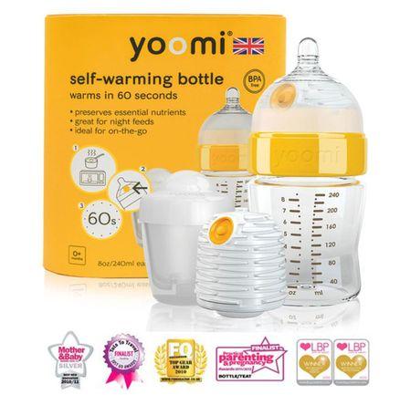 YOOMI 3 v 1 dojčenská fľaša 240 ml + ohrievač
